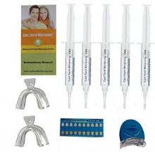 À Dents Accueil professionnelles blanchissant Kit 44% de peroxyde de carbamide avec 5 grandes Seringues de Made in USA Gel 5 Pcs