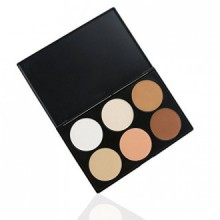RUIMIO Kit Contour de maquillage Mettez en surbrillance et Palette Poudre Bronzante - 6 couleurs