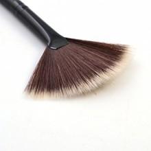 Né Jolie 1Pc Fan Brush Portable Slim pinceau de maquillage professionnel