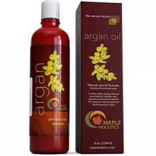 Huile d'Argan Shampoo, Sulfate gratuit, 8 onces. - Avec Argan, Jojoba, avocat, amande, Peach Kernel, Camellia Seed et kératine -