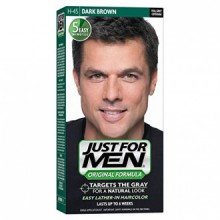 Just For Men Original Formula Couleur des cheveux pour hommes, Dark Brown (Pack de 3)