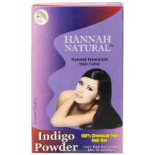 Hannah Natural 100% Pure Indigo Powder for Hair Dye, 100 Gram