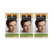 Clairol Natural Instincts Couleur des cheveux pour les hommes M11 Medium Brown 1 Kit (Pack de 3)