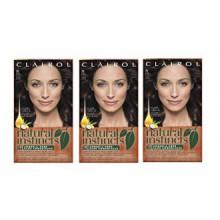 Clairol Natural Instincts 28 Nutmeg Dark Brown 1 Kit (Pack of 3) (emballage peut varier)