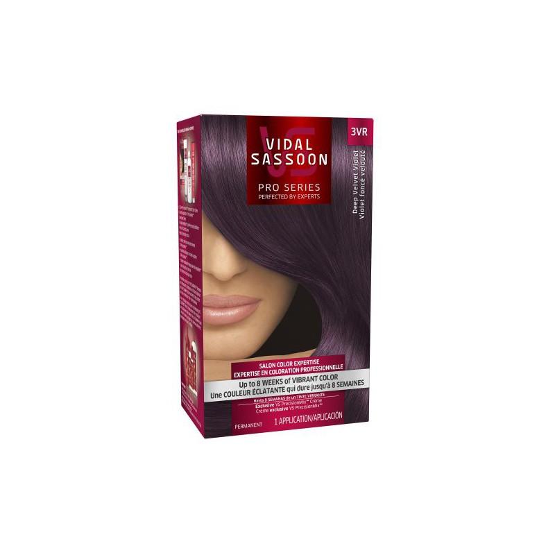 Vidal Sassoon Pro Series Hair Color 3vr Deep Velvet
