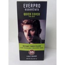 Everpro Essentials Fiber Filler for Men 05 Light Brown 2 Oz. Spray