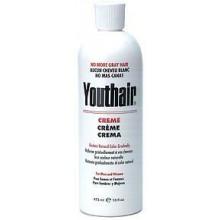 Youthair Creme pour hommes et femmes de couleur naturelle Peu à peu 16 oz / 473ml (Pack de 3)