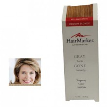 HairMark-Gray Gone Liquid Root Touch Up Hair Color Medium Blonde by ColorMetrics