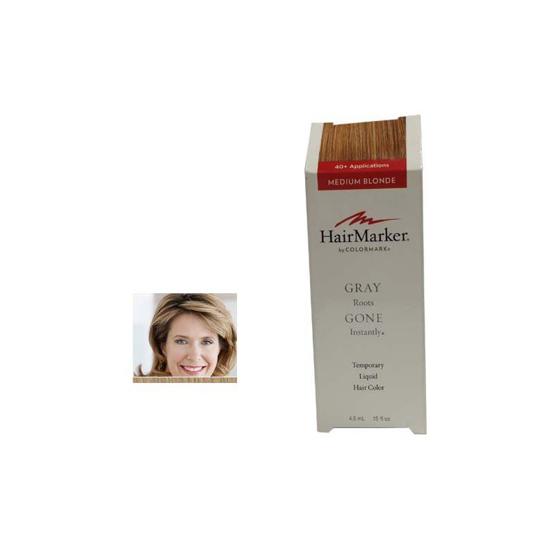 Hairmark Gray Gone Liquid Root Touch Up Hair Color