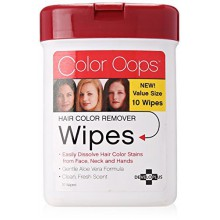 Color Oops Wipes, 10 Count