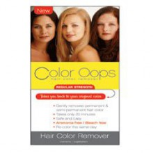 Color Oops Regular Strength Hair Color Remover, RS100 - 1 Ea
