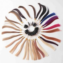 Tom HAIRWORKSColor chart 100% Human Hair Color Ring 31 Colors