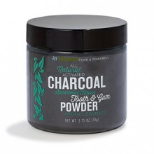 Blanchiment Natural pour Dents avec du charbon actif