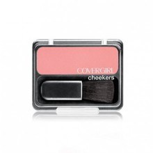 COVERGIRL Cheekers Blendable Powder Blush, Pretty Peach .12 oz (3 g)