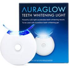 AuraGlow Blanchiment des dents Accelerator Lumière, 5x plus puissante lumière LED bleue, blanchir les dents plus rapides