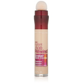 Maybelline New York Instant Age Rewind Eraser Dark Circles Treatment Concealer, Light 120, 0.2-fluid Ounce