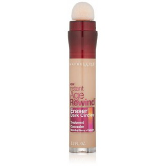 Maybelline New York instantanée Circles Age Rewind Eraser sombres Treatment Concealer, Medium 30/130, Ounce 0,2-fluide