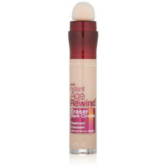 Maybelline New York instantanée Circles Age Rewind Eraser foncé Treatment Concealer, Salon 110, Ounce 0,2-fluide