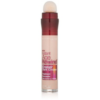 Maybelline New York Instant Age Rewind Eraser Dark Circles Treatment Concealer, Brightener 160, 0.2-fluid Ounce