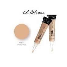 LA Girl Pro HD 973 Conceal cremoso beige (paquete de 2)