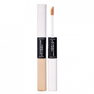e.l.f. Under Eye Concealer and Highlighter, Glow Fair, 0.34 Ounce