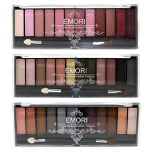 Elégant 36 Natural, Smoky, Ultra kit couleur Eyeshadow Makeup Pro