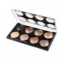 KeyZone 8 Colors Eyeshadow Palette Set Makeup Brush in 8