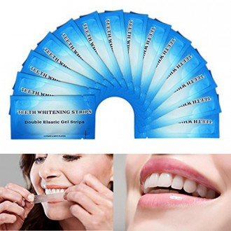 EZGO Supreme Teeth Whitening Strips 28 Count-14 Days Course, Tooth Whitening Whitestrips, Express Whitestrips with