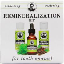 Kit para la remineralización del esmalte dental y mineral (1 kit)
