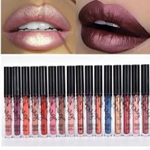 Coosa 3pcs Madly MATTE Lipstick Lipgloss Bold Vivid Color Matte Lipgloss (16 colors)