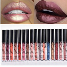 Madly MATTE Lipstick Lipgloss Gras Vivid Couleur Matte Lipgloss de Coosa (16 couleurs)