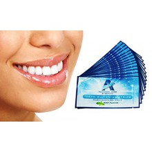 Professional Teeth Force bandes blanchissantes 28 Count - 14 jours d'alimentation + Shade Guide de Bonus