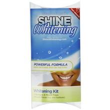 Shine Whitening Teeth Whitening Kit Bundle with 2 5cc Syringes and 2 Mouth Trays
