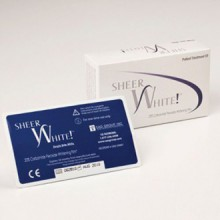 Blanchiment des dents Strips - Sheer blanc! 20% des dents professionnels de bandes blanchissantes Kit Films