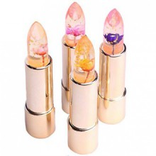 Kailijumei official flower jelly moisturizer lipstick and gloss - Barbie Doll Powder Pink