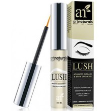 Art Naturals Eyelash Growth Serum (3.5ml) - Thicker, Longer Eyelashes & Eyebrows Enhancer with LUSH, Dermatologist Tested