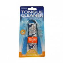 Tongue Cleaner Dr. Tung, en acier inoxydable (2) (les couleurs peuvent varier)