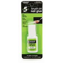 5 Second Nail Glue 12504 Brush