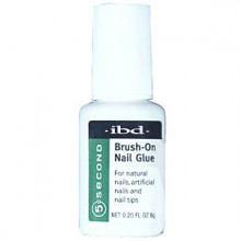 Ibd 5 Second Brush On Nail Glue 54006 / Treatments by IBD