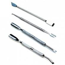Incroyable valeur Ensemble de 4 haute qualité professionnelle manucure en acier inoxydable cuticules Maintenance et traitements