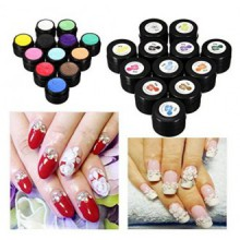 3D Gel UV Manucure Sculpture design Nail Art Tip Glue Creative Décoration 12 Couleurs (Couleur: 3) par Lovestore2555