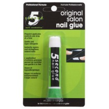5 Second Nail Glue Nail Salon, 2-Gram