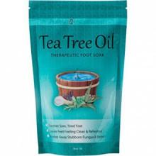 Thé Pied huile Arbre Tremper Avec le sel d'Epsom, aide à ongles Treat Fungus, pied d'athlète et Stubborn Pied Odeur 16oz