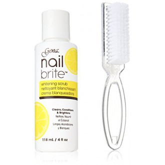 Gena Nail Brite with Brush, 4 Ounce