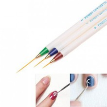 Coper® 3PCS Nail Art Design Set Dotting Painting Drawing Brush Pen Tools