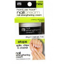 Hard As Hoof Nail Renforcement Crème Cherry Almond Scent Nail Fortifiant & Nail Growth Cream Prévient Splits, Chips,