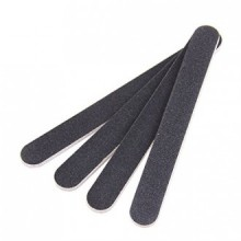10 PCS Professional Double Sided Nail Files Emery Board Grit Black Gel Cosmetic Manicure Pedicure