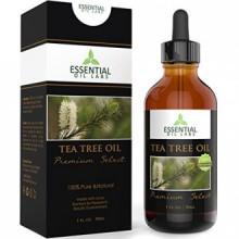 Tea Tree Oil - Therapeutic Grade 45% terpinen-4-ol (Australian) - 1fl oz with Glass Dropper - Premium Select from Essential