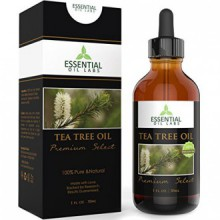 Tea Tree Oil - Therapeutic Grade 45% terpinen-4-ol (Australian) - 1fl oz with Glass Dropper - Premium Select from Essential