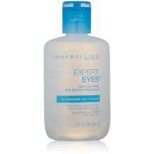 Maybelline New York Expert Eyes 100% Oil-Free Eye Makeup Remover, 2.3 Fl. Oz.